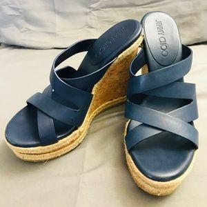 99ef803617ac Jimmy Choo Shoes - Jimmy Choo Prisma Vachetta Wedge Sandal
